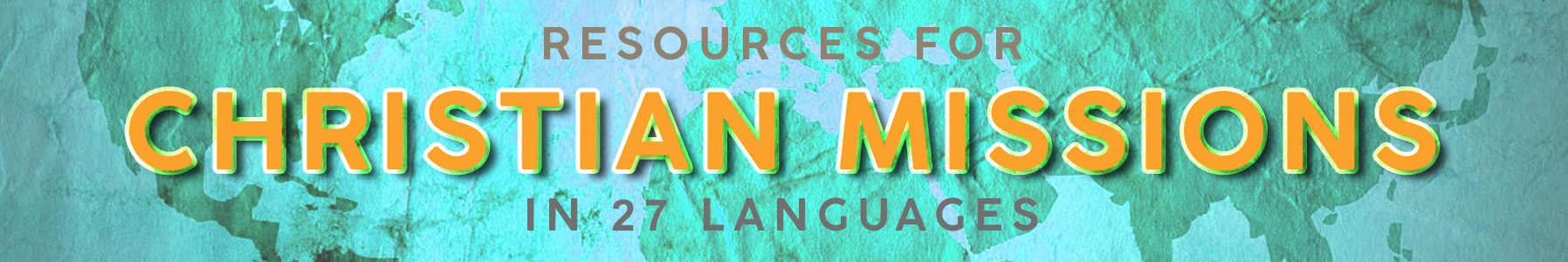Resources for Missions Languages